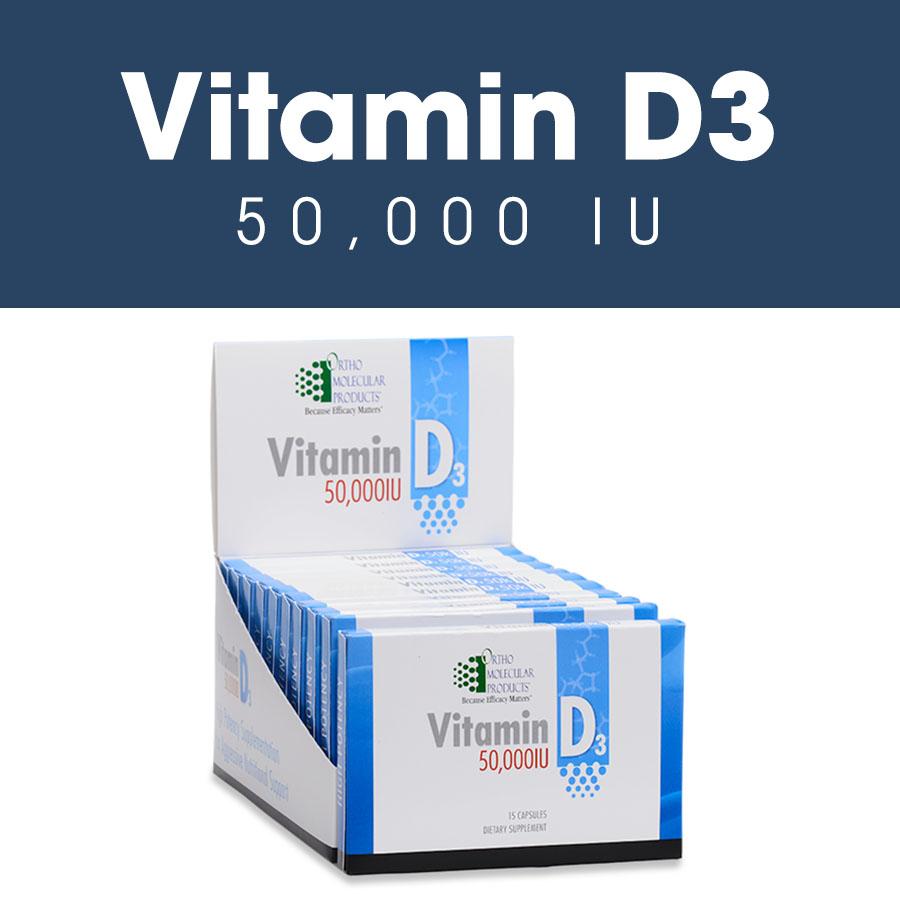Vitamin D3 50,000 IU (15 Cap )